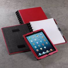 Circa Leather iPad® Foldover Notebook - Levenger