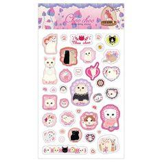 Jetoy Choo Choo Bling Lace Stickers (◕ᴥ◕) Kawaii Panda - Making Life Cuter