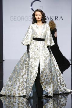 Georges Chakra Couture Fall Winter 2016-2017 Collection @Maysociety