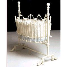 cradles | ... basics home categories cradles iron cradles scalloped baby cradle