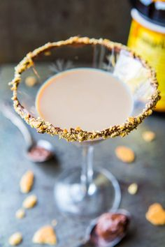 Creamy Nutella Martini - Everything's Better with Nutella. Easy Recipe at averiecooks.com