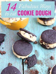 14 Crazy Delicious Ways to Eat Cookie Dough