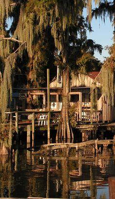 Louisiana Bayou shack....