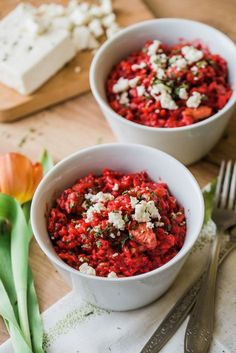 Beetroot, Bruschetta, Risotto, Salsa, Food And Drink, Low Carb, Menu, Vegan, Healthy