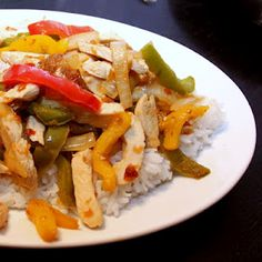 Hot Gringas' Sweet Chili Chicken