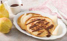 Pfannkuchen Birne Helene