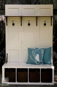 filing cabinet up-cycled into a bench...doing this for our house