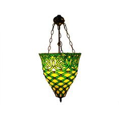 Warehouse of Tiffany Emerald Green Hanging Lamp | Overstock.com Shopping - Great Deals on Warehouse of Tiffany Tiffany Style