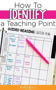 Identifying a teaching point during your guided reading lesson is such a valuable part of the lesson cycle. Learn about the type of teaching points and how to track it all in this post. #guidedreading #balancedliteracy