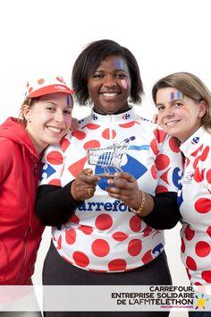 Carrefour, entreprise solidaire du Téléthon 2012    Crédit photo : AFM/Christophe Hargoues