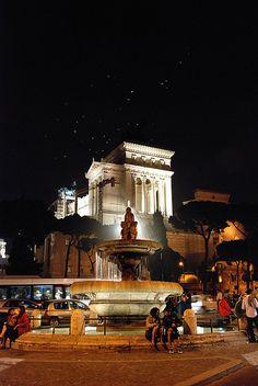 Piazza Ara Coeli, Rome, Italy