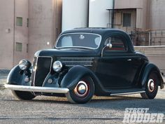 1936 Ford Three Window Coupe