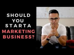 Why You Should Start A Marketing Business Social Media Marketing Agency, Business Marketing, Videos, Youtube, Life, Youtubers, Youtube Movies