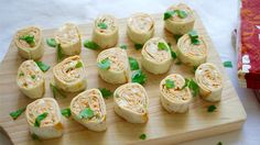 Tortilla roll-ups 3 ways: These will rock your party right