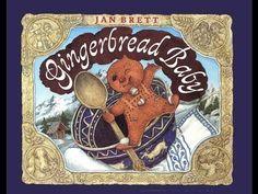 Gingerbread Baby by Jan Brett. Grandma Annii's Storytime - YouTube