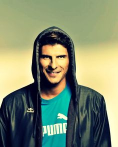 Mario Gomez. I just can't get enough of him!