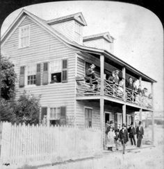 Emanuel I. de Medicis' Boarding House  St. Augustine, Florida  1877