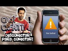 Desconectar para conectar | Casi Creativo - YouTube Phone Cases, Teaching, Youtube, Past Life, Learn Spanish, Tecnologia, Creativity, Education, Youtubers