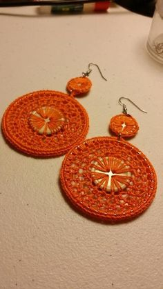 Crochet Earrings Video
