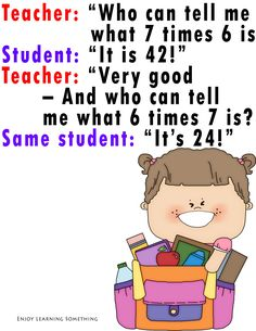 Joke time! Here's one of my favorite #Math jokes. What's yours? #FridayMathDay http://lucyravitch.com/