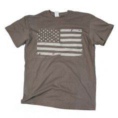 American Victory Battle Flag Tee American Victory Graphic Tee