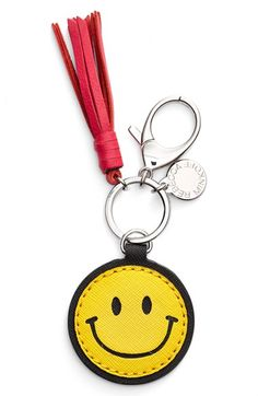 Rebecca Minkoff 'Smiley Face' Bag Charm available at #Nordstrom