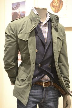 Double breasted waistcoast is a bit overkill for a presumably casual look but a sweater could work just as easily instead Military Fashion, Mens Fashion, Fashion Outfits, Swag Fashion, Dope Fashion, Fashion Pants, Sharp Dressed Man, Well Dressed Men, Estilo Cool