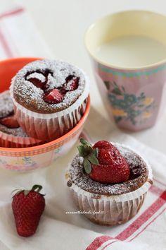 muffin alle fragle e yogurt