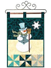 January Wall Hanging Laser-Cut Quilt Kit or Pattern