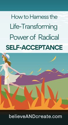 Click thru to learn how radical self-acceptance in the now changes your life from here on. Plus, try a couple of self-acceptance exercises that'll help get you past the barriers to self-acceptance that you've been struggling with. Self Development, Personal Development, Believe In You, Love You, Radical Acceptance, Tips To Be Happy, You Deserve Better, Self Confidence, Confidence Building