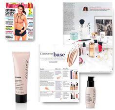 Revista Womens Health marzo 2016. Productos: Base Fluida Luminosa TimeWise y Solución de Día TimeWise con FPS 30 Protección Alta.  #MaryKay #MaryKayEspaña #Medios #Belleza #Maquillaje #Color