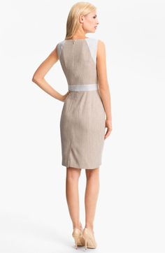 Backside - Classiques Entier Sabine Tweed Sheath Drerss from Nordstrom - Cotton/acrylic/polyester/nylon