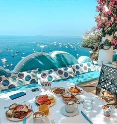 Beach Trip, Vacation Trips, Vacation Spots, Dream Vacations, Good Morning Coffee Gif, Happy Morning, Santorini House, Nature Landscape, Beautiful Places To Travel