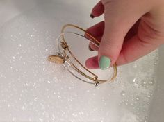 How to properly clean your Alex and Ani Bracelets @Monica Forghani Forghani Forghani Forghani Forghani Brown