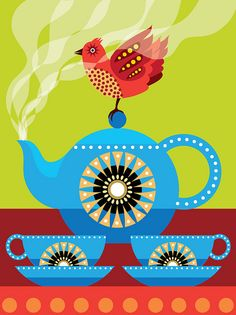 steaming tea by suzanne carpenter, via Flickr