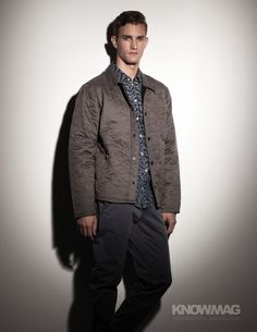 Lisandro jacket with Kieron tee and Norden pant