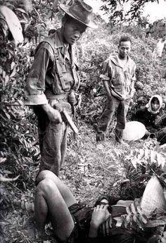 VIETNAM WAR - Mekong Delta; ~ 1962. (Photo: Dickey Chapelle)