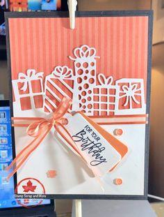 Birthday Cheer Tutorial #birthday #cheer #tutorial Cricut Birthday Cards, Birthday Cards For Brother, Bday Cards, Kids Birthday Cards, Cricut Cards, Handmade Birthday Cards, Stampin Up Cards, Birthday Images, Birthday Ideas