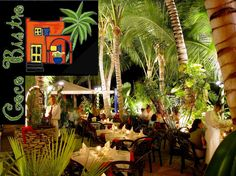 Coco Bistro - Simply Beautiful - Dine under the palms at this top-rated restaurant in Turks & Caicos located in the heart of Grace Bay and within walking distance to most resorts.  http://www.cocobistro.tc