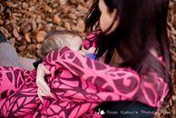 Solnce Genesis Rosefinch Wrap (cashmere, linen)