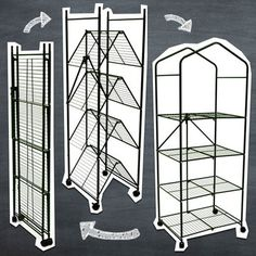 Greenhouse by Origami furniture that folds flat