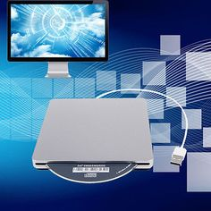 New Portable USB External DVD CD RW ROM Drive Burner Writer Windows Mac Linux OY