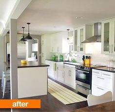 Before & After: Rick and Jessie's Fast-Track Kitchen Renovation   Apartment Therapy