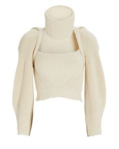 Crop Top Sweater, Sweater Shop, Cotton Sweater, Fade Styles, Kpop Fashion Outfits, Fasion, Fashion Dresses, Sweater Design, Maxi Wrap Dress