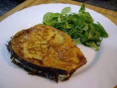 Mis recetas de cocina: SAN JACOBOS DE BERENJENA RELLENOS DE JAMON Y QUESO PASO A PASO