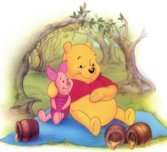 Pooh Bear. I just can't resist.