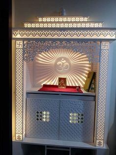 Dining Furniture, Furniture Design, Modern Tv Room, Ganpati Decoration Design, Mandir Design, Pillar Design, Pooja Room Door Design, Temple Design, Puja Room