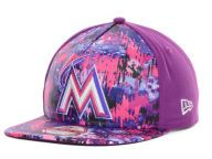 Find the Miami Marlins New Era Grape New Era MLB Splat 9FIFTY Strapback Cap & other MLB Gear at Lids.com. From fashion to fan styles, Lids.com has you covered with exclusive gear from your favorite teams.