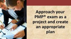 http://www.pm-prepcast.com - Studying for the PMP exam toward your PMP certification will be a much less daunting task if you apply your project management skills to it and create a project plan. In this third video of The PM PrepCast's series on preparing for the PMP exam, you'll learn the essential elements to include in your project study plan.