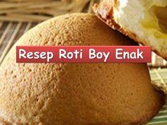Coffee Buns Recipe/Resep Roti Boy - YouTube Donut Recipes, Sweets Recipes, Bread Recipes, Snack Recipes, Cooking Recipes, Snacks, Roti Recipe, Bun Recipe, Bomboloni Recipe